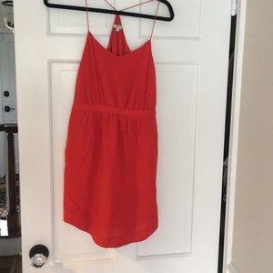 Madewell red dress 00